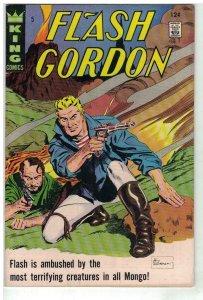 FLASH GORDON (1966-1982) 5 VG-F WILLIAMSON
