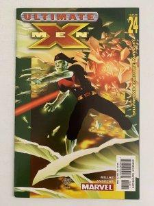 Ultimate X-Men #24 Hellfire & Brimstone Part 4 (2001 Marvel Comics) NM