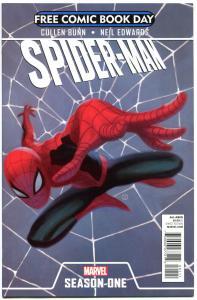 SPIDER-MAN SEASON ONE 1, NM, FCBD, 2012, more FCBD in store