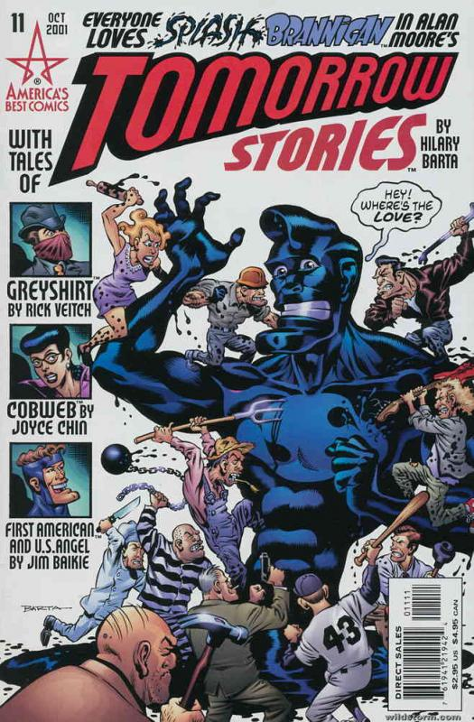 Tomorrow Stories #11 FN America's Best - save on shipping - details inside