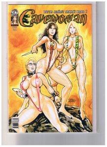 Cavewoman Battle Aginst Ankha's Brood  2  (Mature)