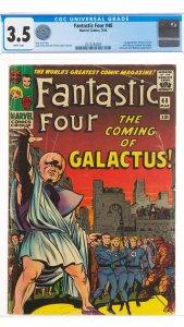 Fantastic Four #48 CGC 3.5