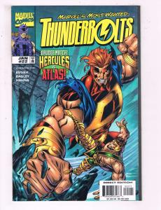 Thunderbolts #22 VF Marvel Comics Comic Book Busiek DE16