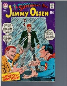Superman's Pal, Jimmy Olsen #123 (1969)