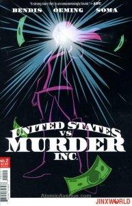 United States Vs. Murder, Inc. #2 VF/NM; Jinxworld | save on shipping - details