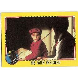 1990 Topps DICK TRACY-HIS FAITH RESTORED #75