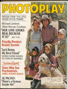Photoplay-Jack Benny-George Burns-Michael Landon-Feb-1975