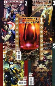 ULTIMATE EXTINCTION (2006) 1-5  complete!