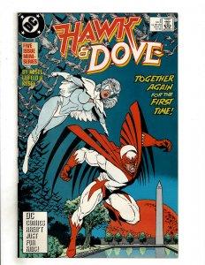 Hawk and Dove #2 (1988) DC Comics Superman Flash OF6