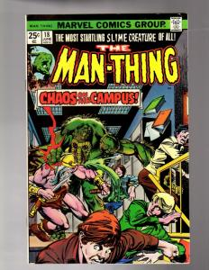 MAN THING 18 F-VF June 1975 COMICS BOOK