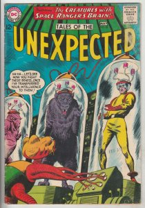 Tales of the Unexpected #82 (May-64) FN+ Mid-High-Grade Space Ranger, Cyrl
