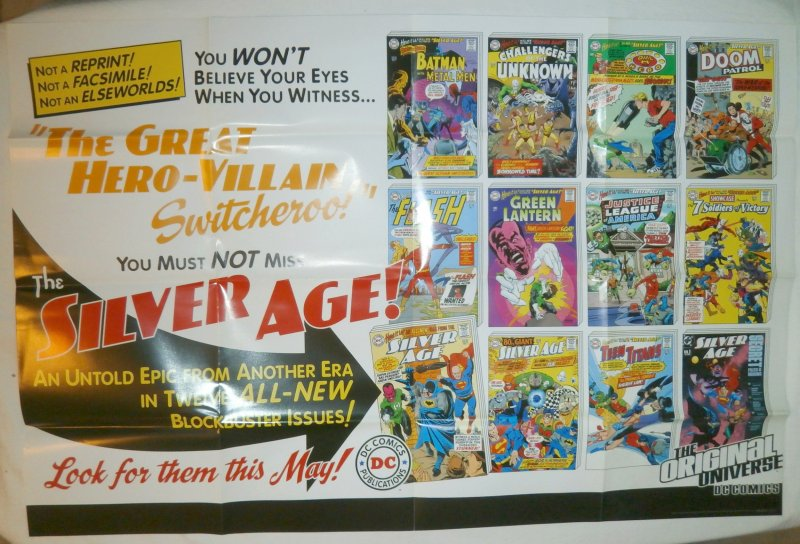 Silver Age, The (DC) promotional poster FN