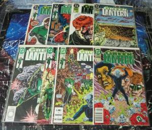 GREEN LANTERN (1990) 1-8 Hal Jordan, premiere story arc