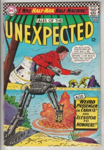 Tales of the Unexpected #98 (Jan-67) NM- High-Grade Judy Blonde, Secret Agent