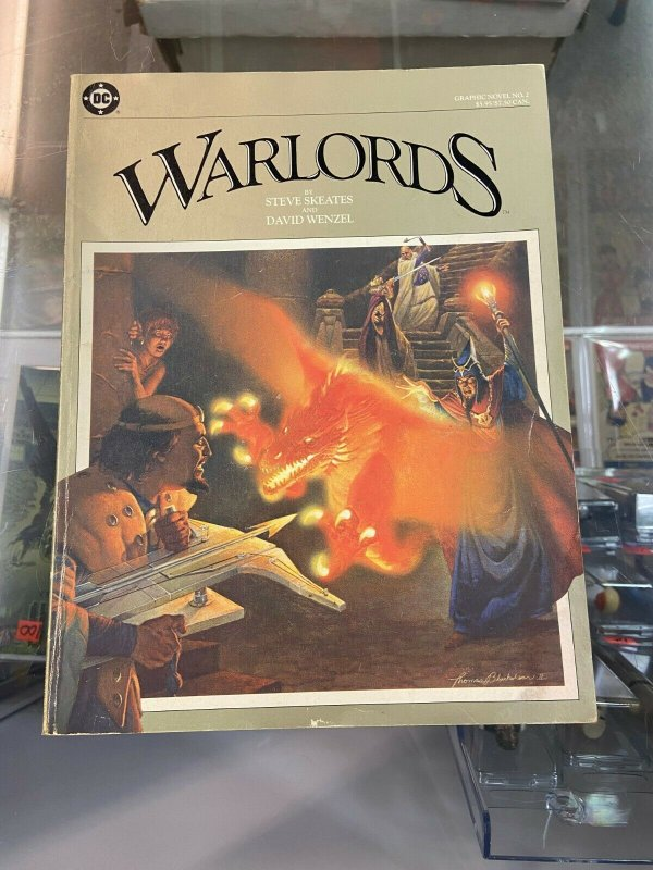 Marvel Graphic Novel 2 VG-/VG Warlords