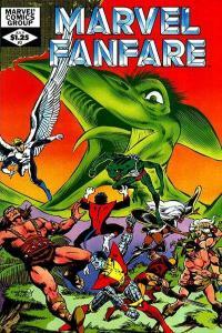 Marvel Fanfare (1982 series) #3, NM- (Stock photo)
