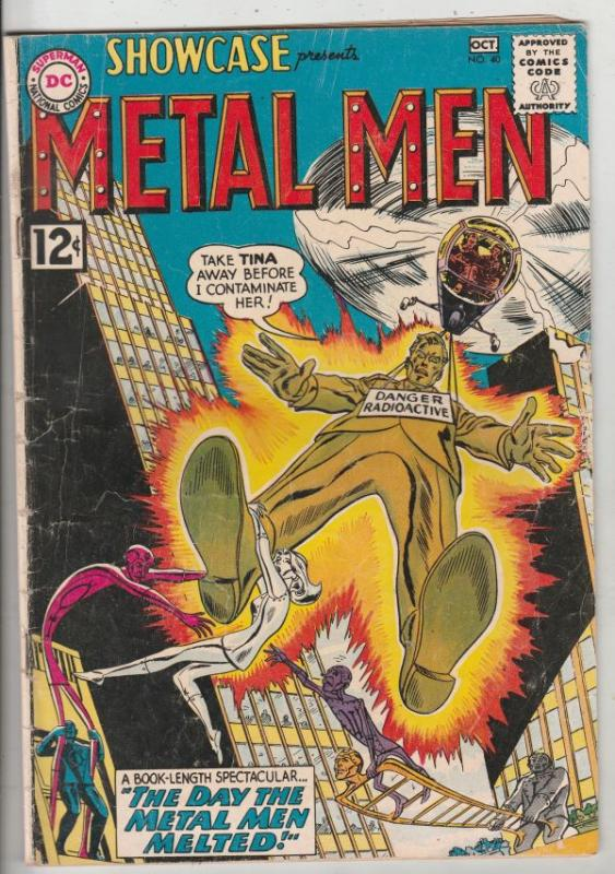 Showcase #40 (Oct-62) VG+ Affordable-Grade The Metal Men (Gold, Lead, Mercury...