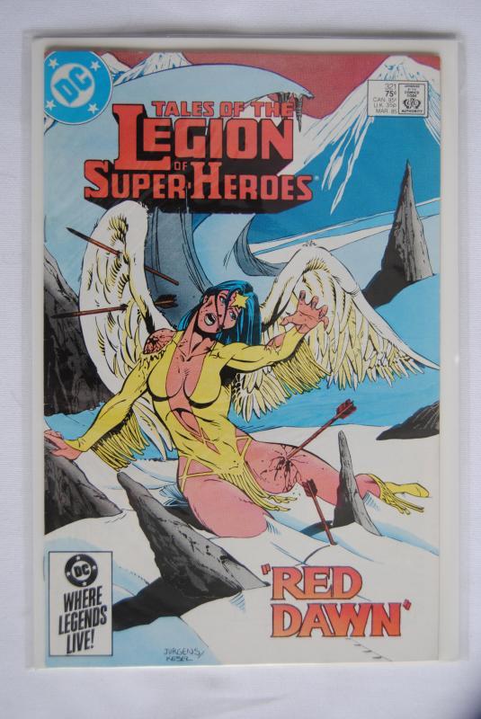 Legion of Super-Heroes 321