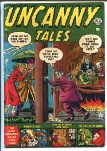 Uncanny Tales #4 1952-Atlas-Joe Maneely-horror-vampire-skeleton-VG/FN
