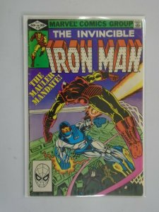 Iron Man #156 4.0 VG (1982 1st Series)
