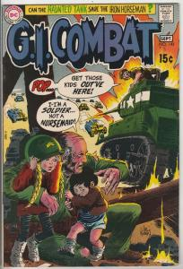 G.I. Combat #143 (Sep-70) NM/NM- High-Grade The Haunted Tank
