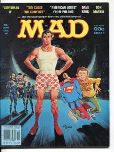 Mad-Magazine-#226-Oct-1981-Mort Drucker-Don Martin-David Berg-Superman