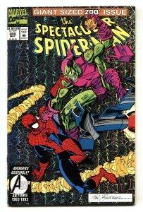 SPECTACULAR SPIDER-MAN #200 Green Goblin cover 1993-MARVEL COMICS
