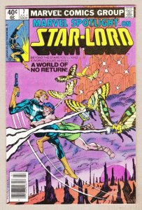 MARVEL SPOTLIGHT on STAR-LORD #7, VG/FN, Guardians of the Galaxy, 1979 1980
