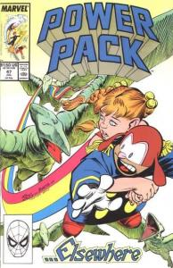 Power Pack (1984 series) #47, VF- (Stock photo)
