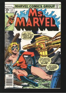 MS MARVEL 17 NM+ 9.2; 2nd cameo app of Raven Darkholme disguised as Nick