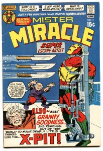 MISTER MIRACLE #2 VF- 1971-JACK KIRBY-DC BRONZE Granny Goodness