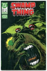 Swamp Thing #61 1967- DC Comics- Alan Moore- Green Lantern NM-
