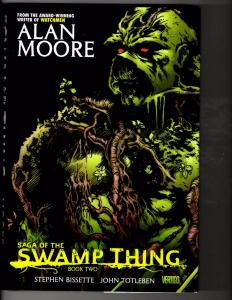 Saga Of The Swamp Thing Book # 2 HARDCOVER DC Comics Graphic Novel Al Moore LH12