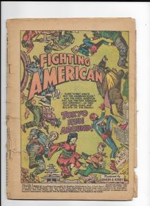 fighting american 4 coverless complete simon kirby