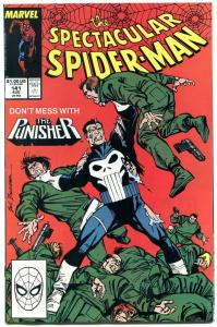 Spectacular Spider-Man #141 1988- Punisher issue NM-
