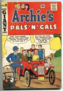 Archie's Pals 'n' Gals #28-1964-Betty-Veronica-Giant Edition-pin-ups-G