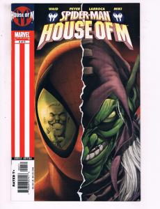 Spider-Man House Of M #4 Of 5 VF Marvel Comics Comic Book Waid DE20