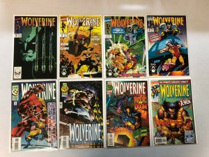 Lo # Wolverine comic lot from:#23-169 16 different avg 8.0 VF (1990-2001)