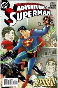 Adventures of Superman #640 NM+