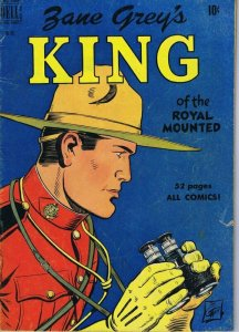 1950 Zane Grey's King of the Royal Mounted Dell Four Color Comics #283 VINTAGE
