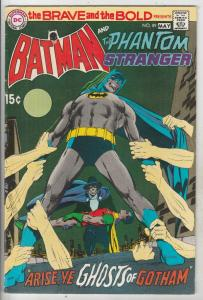 Brave and the Bold, The #89 (May-70) VF High-Grade Batman, Phantom Stranger