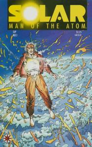 Solar, Man of the Atom #1 VF/NM; Valiant | save on shipping - details inside