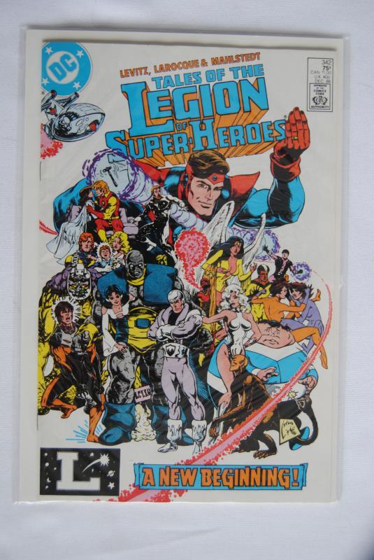 Legion of Super-Heroes 342