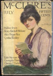 McClure's 7/1914-Charles F Underwood-Radium Robbers-Flagg-G/VG