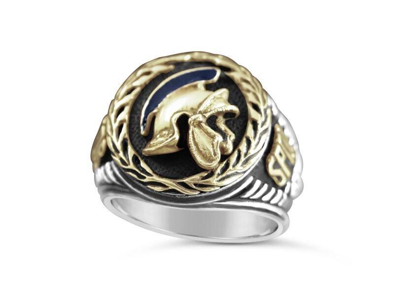 Roman Pro Counsel SPQR Ring Artisan made sterling silver