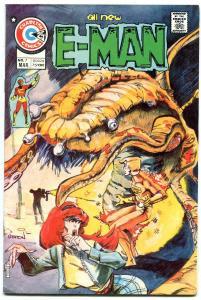 E-MAN #7-JOHN BYRNE ART VF/NM