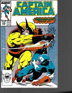 Captain America #330 (Marvel, 1988) NM
