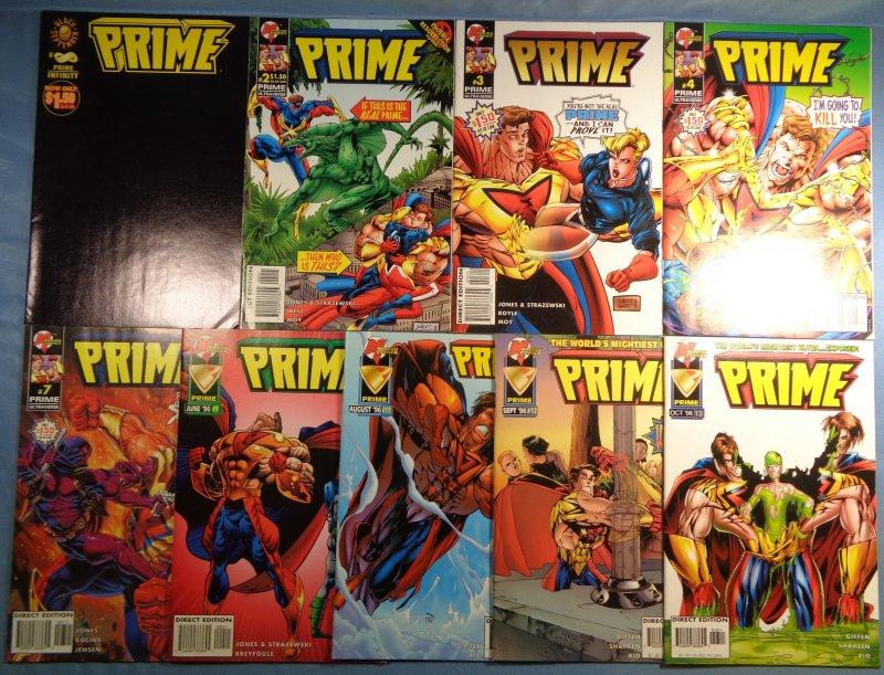 Prime Lot #Infinity #2 #3 #4 #7 #9 #11 #12 #13 Malibu Comics Spider-Man