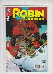 ROBIN SON OF BATNAM #1  2015 / DC /  KEY ISSUE  /  UNREAD  / NM / NM+