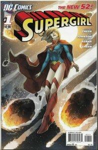 SUPERGIRL#1,NIGHTWING#1,SAVAGE HAWKMAN #1  DC NEW 52 NM.